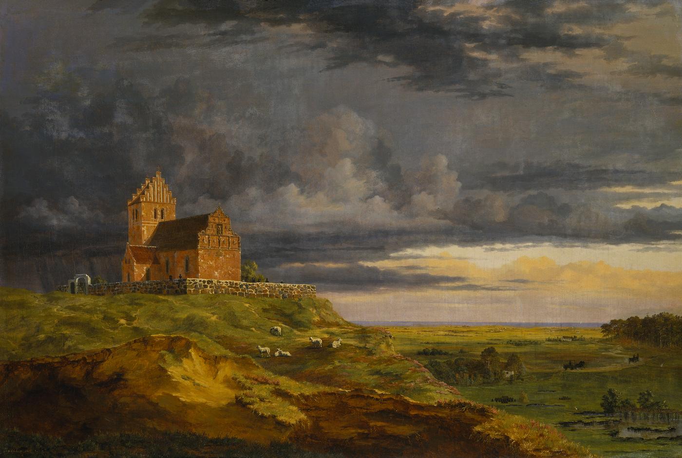 Art Museum Sjælland lys under en skæppe