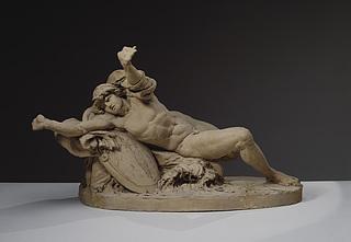 J.T. Sergel, Achilleus ved havet, ca. 1775-76