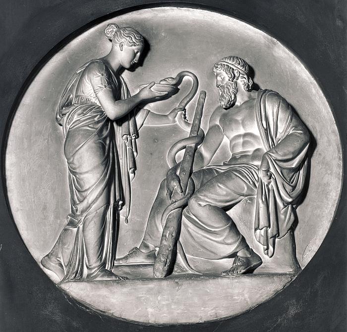 Hygieia og Æskulap