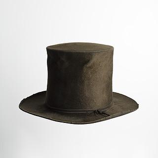 Høj hat der har tilhørt Thorvaldsen