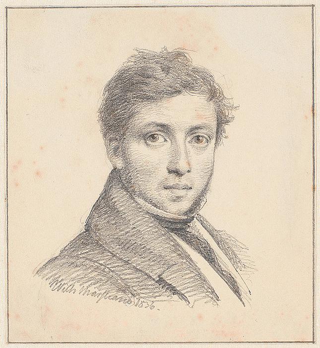 Wilhelm Marstrand: Christen Købke, 1836