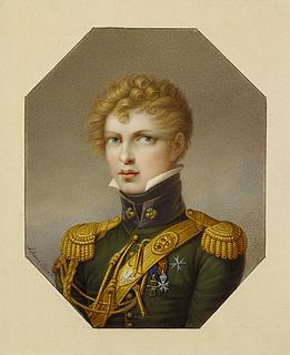 Portræt af Włodzimierz Potocki