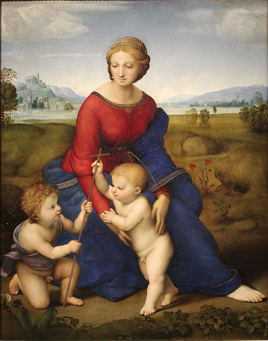 Rafael: Madonna del Prato, 1505-06