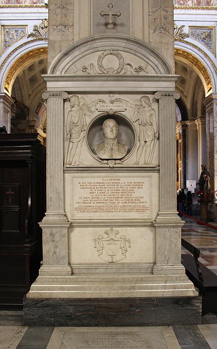 Paul Lemoyne: Monument for Fay de Latour-Maubourg