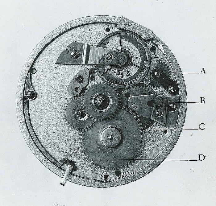 Thorvaldsens lommeur, det automatiske ur
