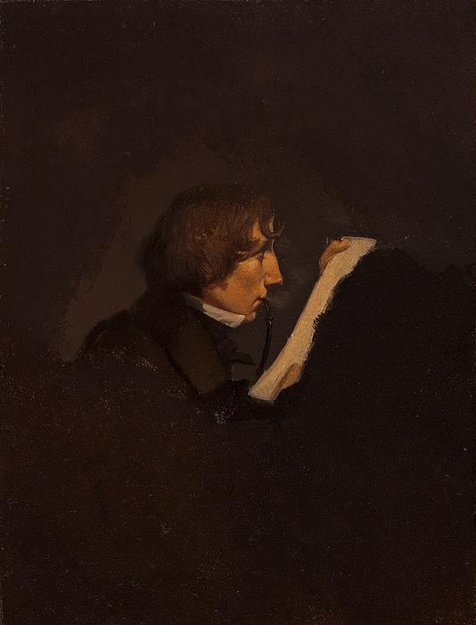 Portræt af Heinrich Crola