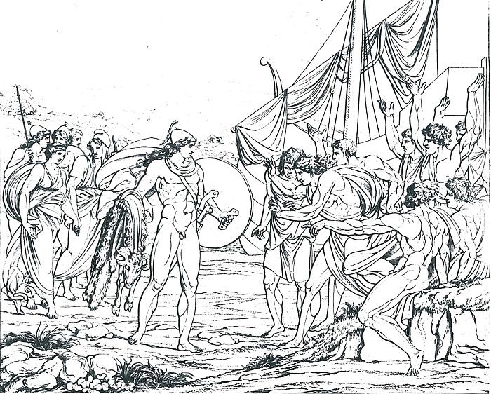 A. J. Carstens: Jason med det gyldne skind, 1797