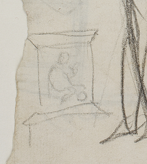 Sketch of the Baptismal Font