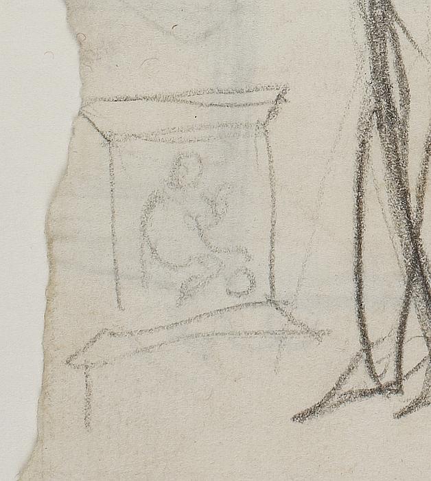 Diodemes med Palladiet og Odysseus. Døbefont (?)