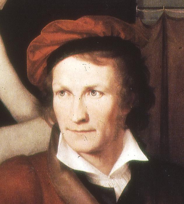 Wilhelm Schadow: Thorvaldsen 1818