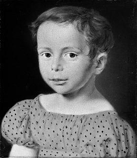 C.A. Jensen. Barneportræt