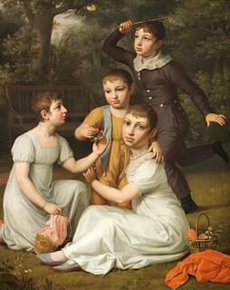 C.W. Eckersberg: Johannes Søbøtkers børn, 1806