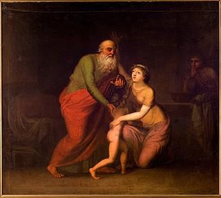 Probsthayn, Elias opvækker enken af Saraptas søn