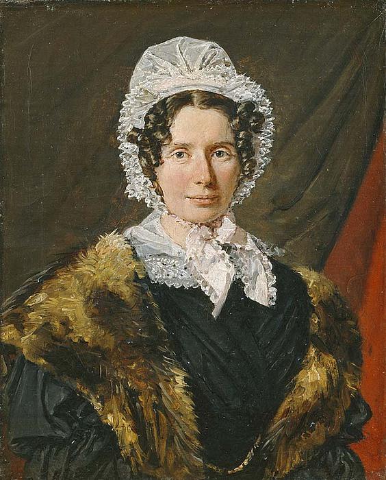 C.A. Jensen, Portræt af Bolette Puggaard