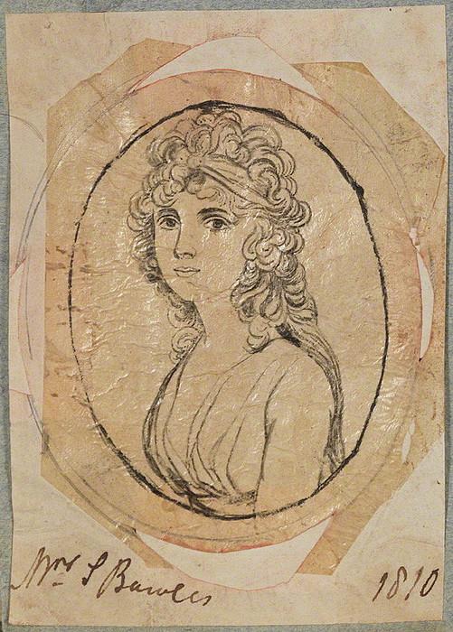 Henry Bone, Elisabeth Bowles, 1810, efter Andrew Plimer, National Portrait Gallery, London, D17657