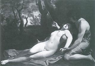 Guido Reni (?), Procris' død. Herzog Anton Ulrich-Museum, Braunschweig