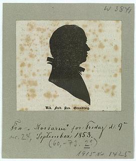 Claudius Rosenhoff. Nikolaj Frederik Severin Grundtvig. Det kongelige Bibliotek.