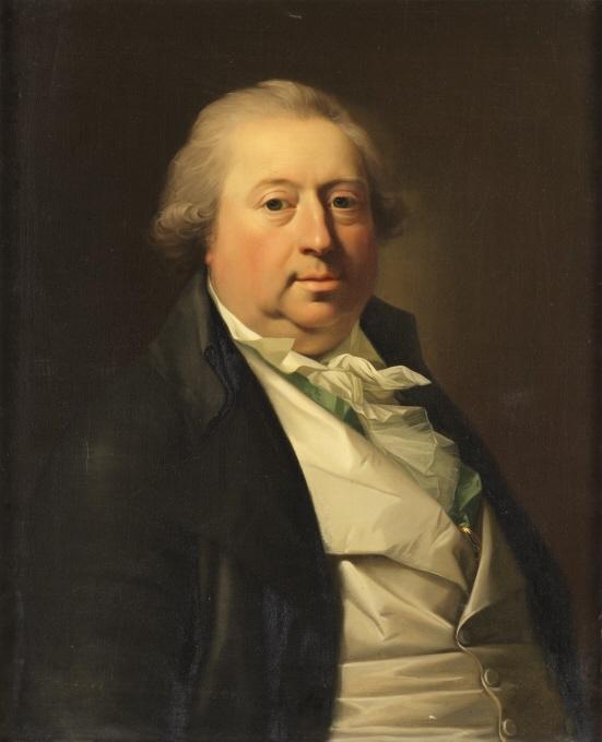 Jens Juel: Johann Tobias Sergel, 1794