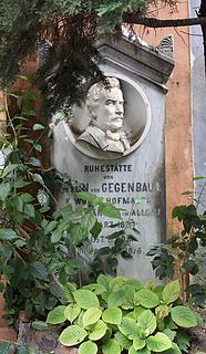 Gravmæle for Anton Gegenbaur, Campo Santo Teutonico