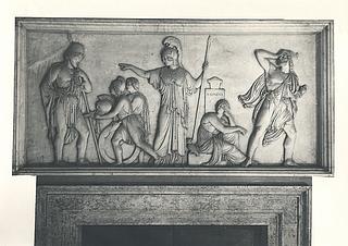 Odysseus får Achilleus' våben, Palazzo Giraud-Torlonia, Rom; foto 1929.