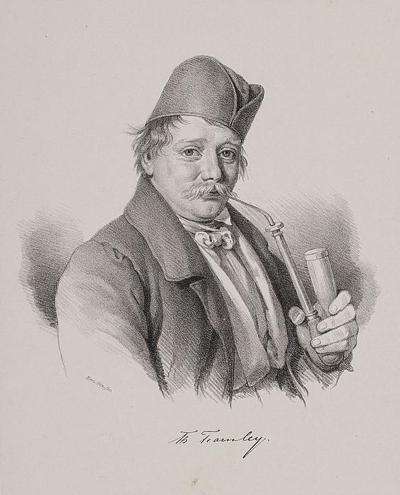 Em. Bærentzen: Thomas Fearnley, 1843