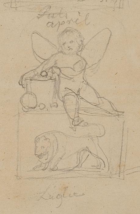 Genier og dyrekredsens billeder, udsnit Løvens tegn