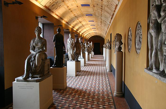 Sydkorridoren på førstesalen