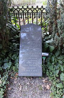 Adelgunde Vogt, gravmæle, Assistens Kirkegård, København