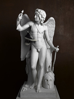 Elmgreen & Dragset: Cupid Triumphant (Sneakers), 2009