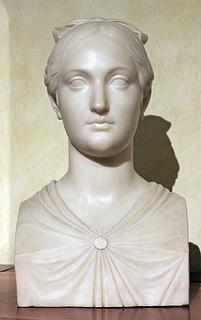 P. Tenerani: Vittoria Caldoni, marmor, 1821, Museo di Roma