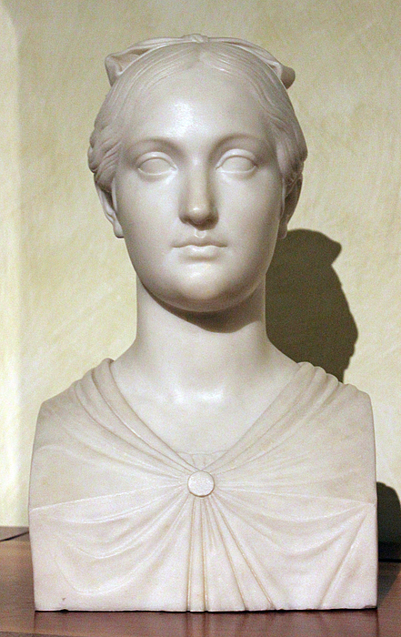 P. Tenerani: Vittoria Caldoni, 1821