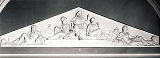 Bertel Thorvaldsen: Jupiter, Minerva og Nemesis, ca. 1822 - Copyright tilhører Thorvaldsens Museum