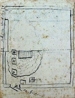 ea0531 Freunds tegning, grundplan