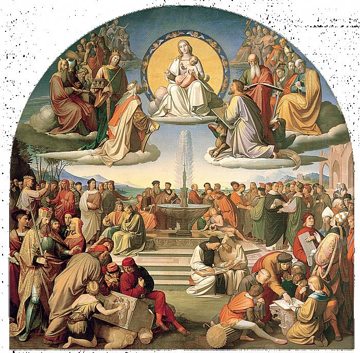 Johann Friedrich Overbeck: Religionens triumf i kunsten