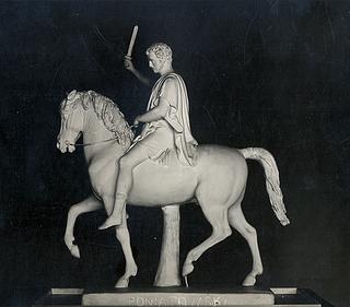 Udkast til Poniatowski-statuen, 1826, Stadtgeschichtliche Museum Leipzig