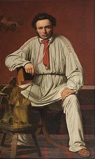 Christian Købke: Portræt af Hermann Freund, 1838 - Copyright tilhører Det Kongelige Akademi for de Skønne Kunster, Akademiraadet (Frida Gregersen)