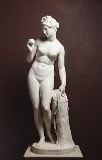 Thorvaldsen, Venus med æblet, marmor, Thorvaldsens Museum.