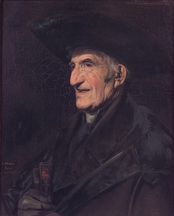 Antoine Joseph Wiertz: Angelo Uggeri, 1835
