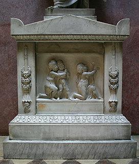 Bedende børn, til gravmæle over Artur Potocki