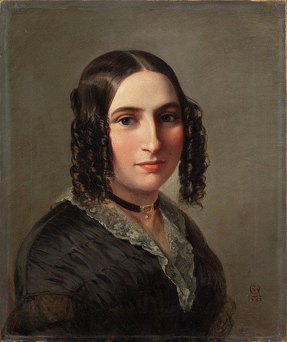Moritz Oppenheim: Fanny Hensel
