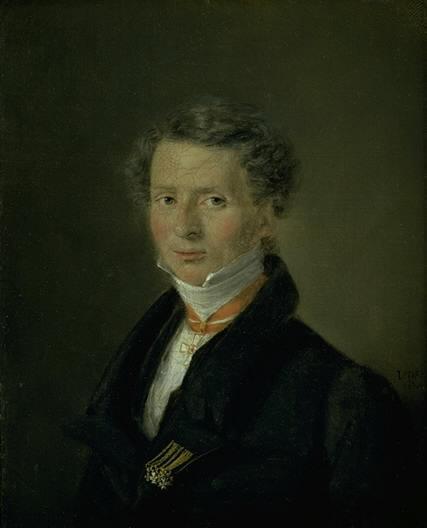C.A. Jensen: Mathias Friis von Irgens-Bergh, 1824