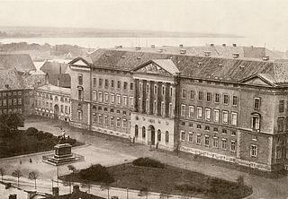 C.F. Hansen: Christiansborg Slot, København, Det Kongelige Bibliotek