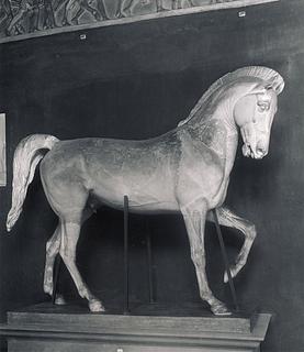 Bertel Thorvaldsen: Hesten til rytterstatuen af Maximilian I, 1833-1835 - Copyright tilhører Thorvaldsens Museum