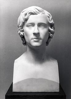 Thorvaldsen: J.C. Dahl, marmor, færdiggjort 1827, Bergen Kunstmuseum / Kode