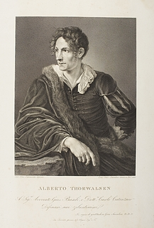 Portrait of Bertel Thorvaldsen