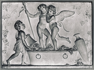 Amor og Bacchus, Høsten