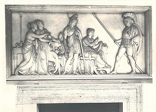 Hektor hos Paris og Helena, Palazzo Giraud-Torlonia, Rom; foto 1929.