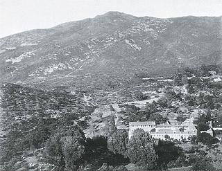 Ukendt fotograf / Romaïdes Brødrene: Pentelikonbjerget, ca. 1880-90