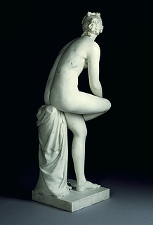 Joseph Nollekens, Venus, 1773, marble, The J. Paul Getty Museum, inv. no. 87.SA.106, rear view