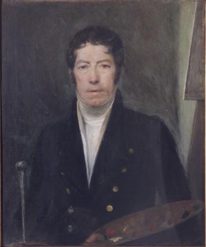 Domenico Pellegrini: Selvportræt, 1827